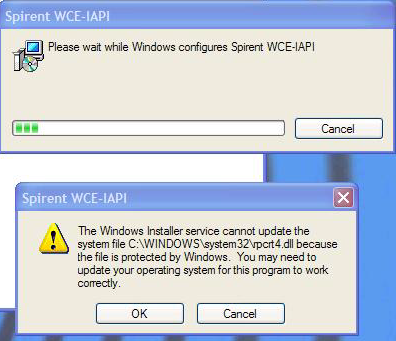 SR5500: Windows Installer Service cannot update the system