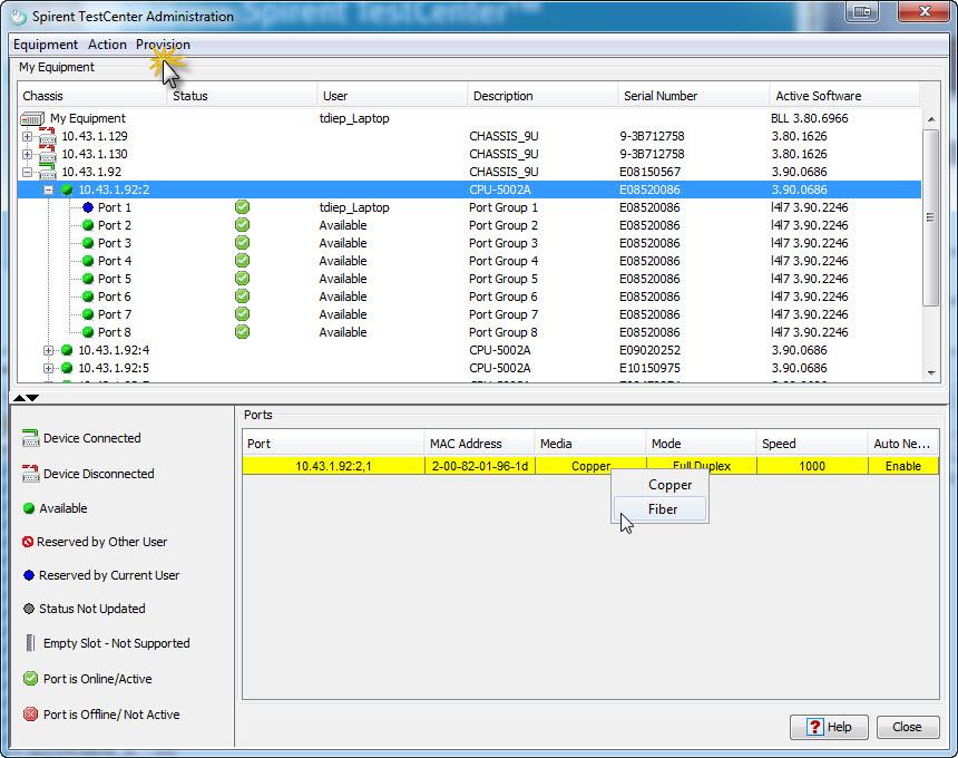 spirent avalanche software